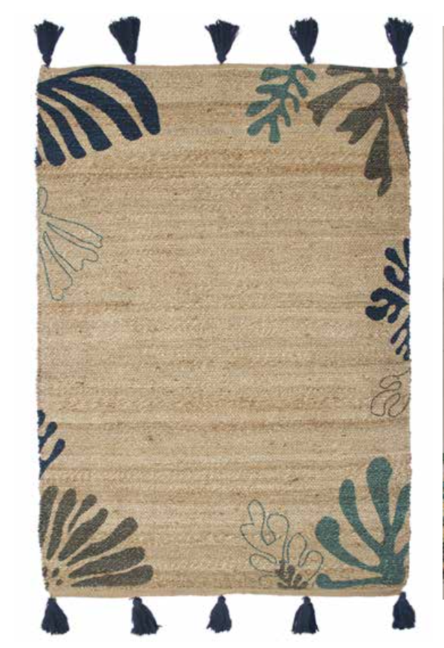 Tapis MATEO blue/green