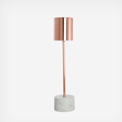 Lampe socle marbre