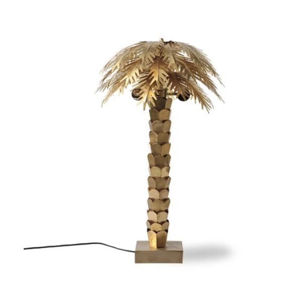 Lampe Palm Brass