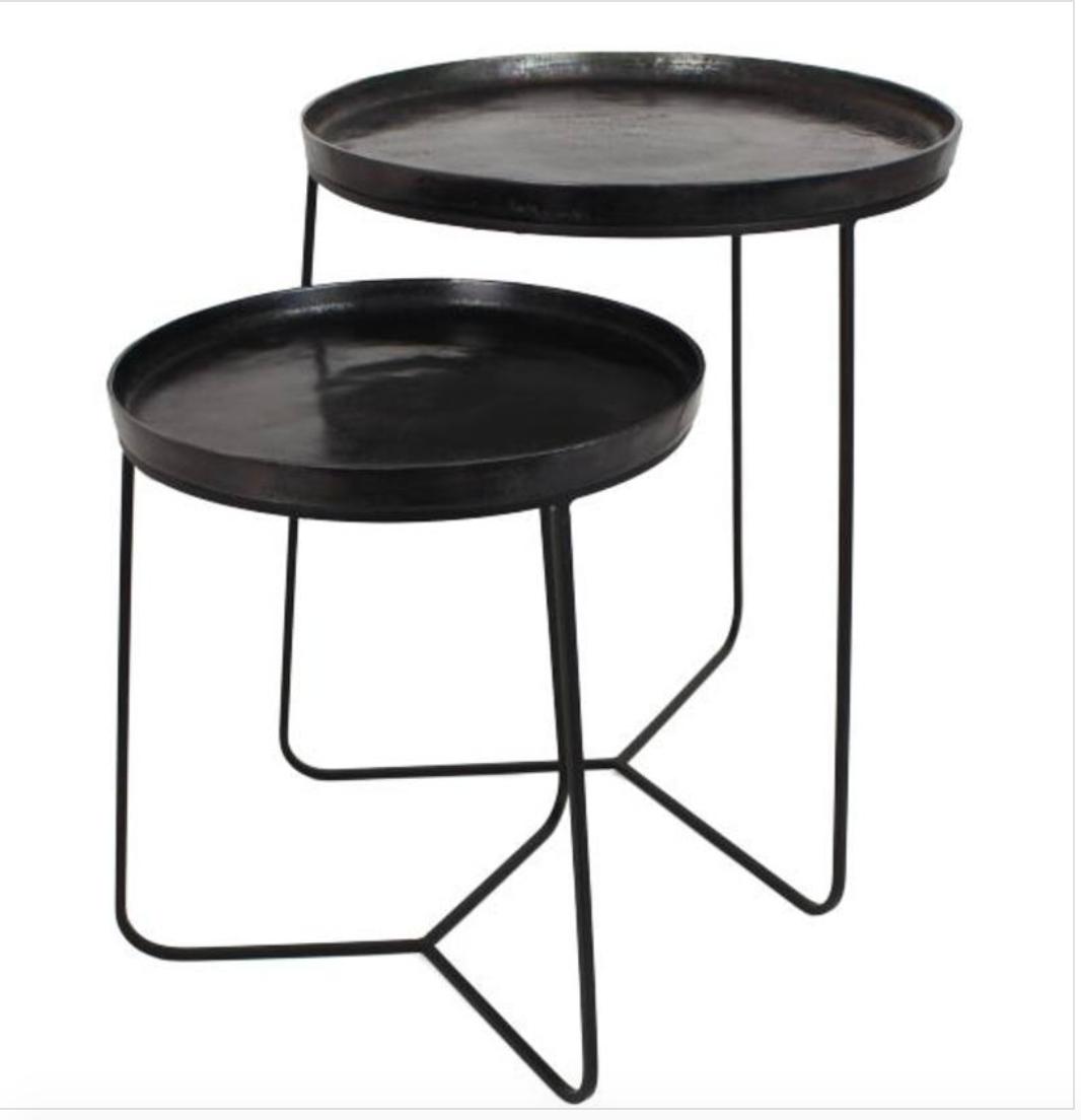 New/  Set Table métal