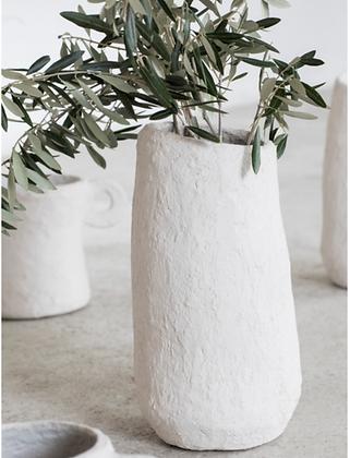 Vase papier mâché