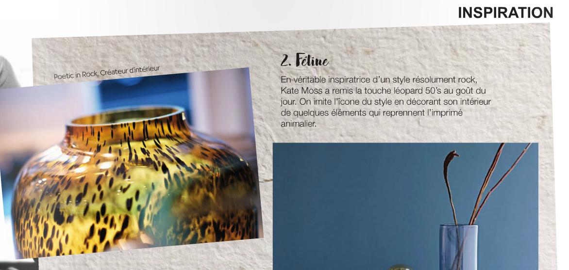 Presse Inspiration Déco Kate Moss