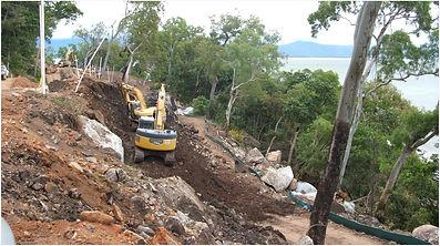 Reef Cove Resort, False Cape, Cairns, civil construction, Construction Management & Development Pty Ltd