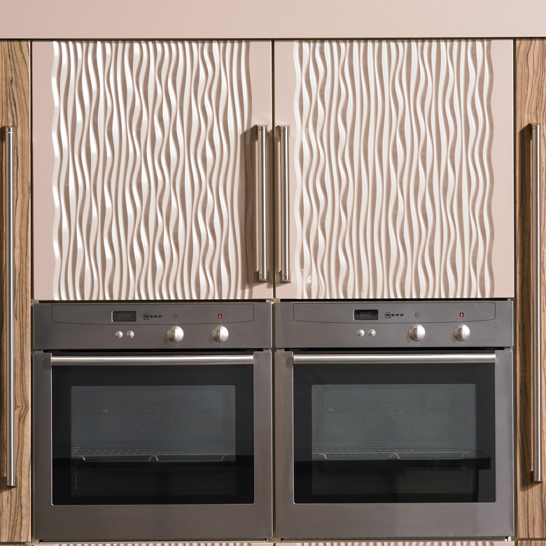 Sahara Carved Doors. Shown in vertical style