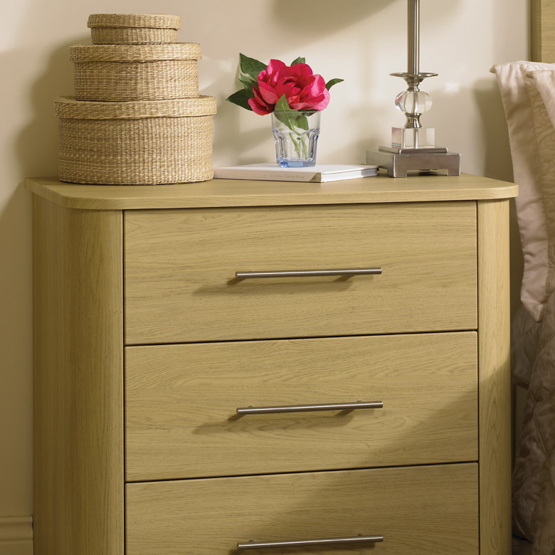 Cabinet with Curved Feature