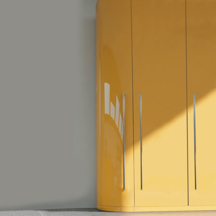 Zurfiz Curved Doors and Plinth