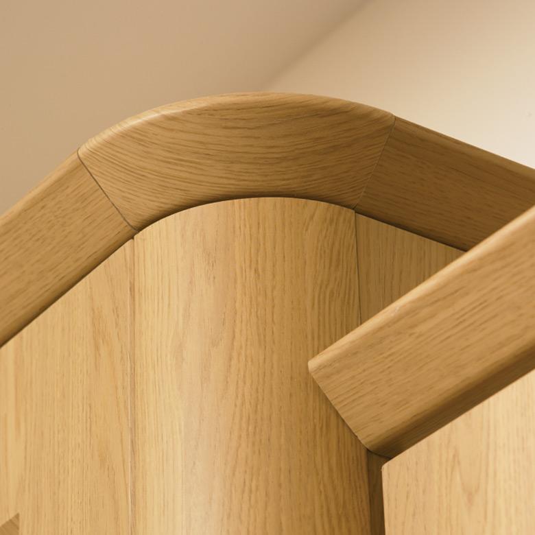 Curved Corner Feature & Tangent Cornice