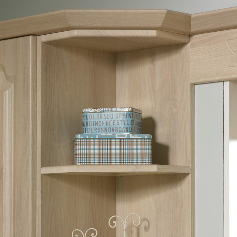 Wall End Shelf Unit