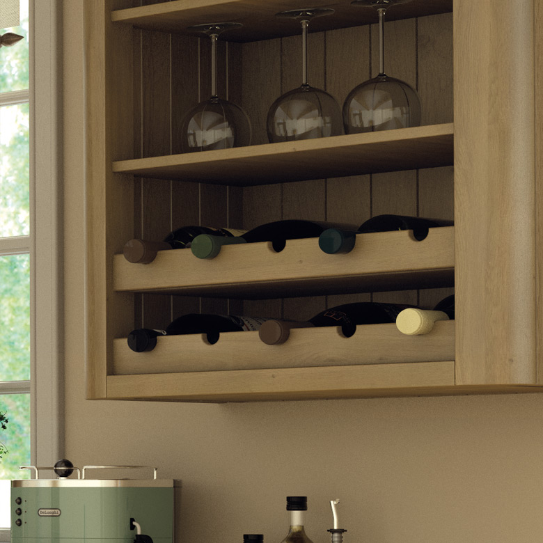 Pronto Wine Rack Rail