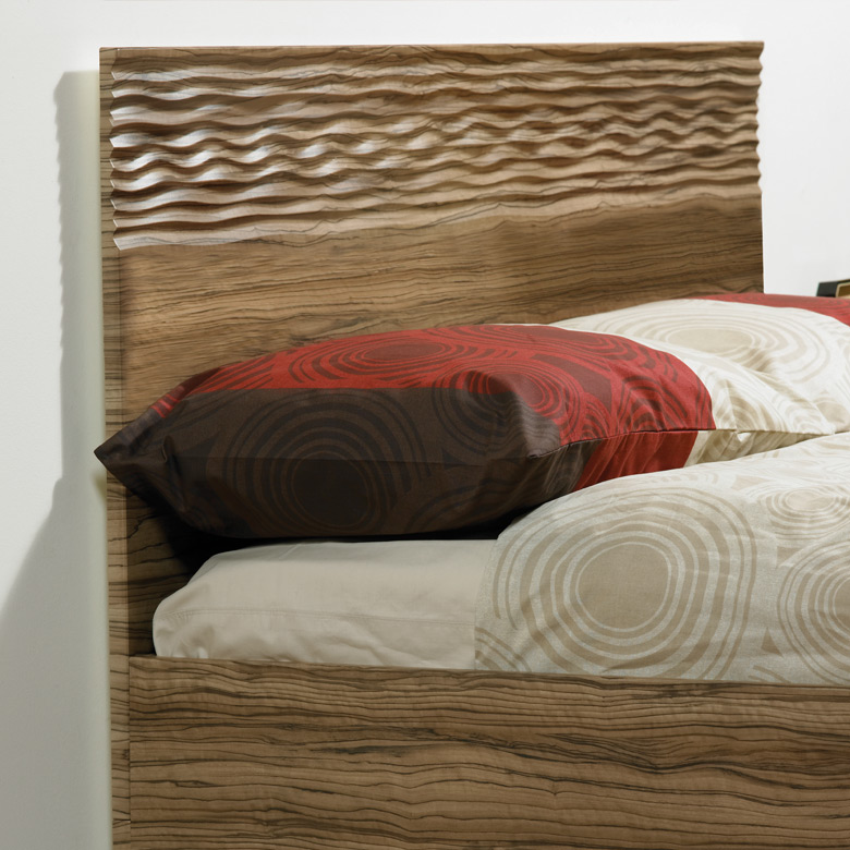 Sahara Carved Headboard