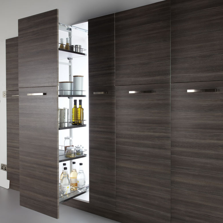 6 Tier Full Height Larder Pull Out