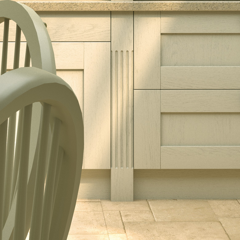 Pronto Fluted Pilaster