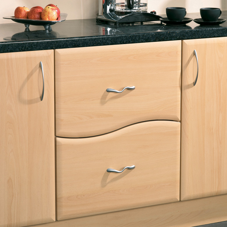 Wave Design 2 Drawer Unit