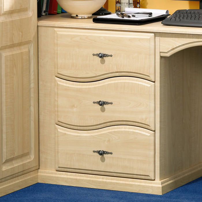 Wave Design 3 Drawer Unit