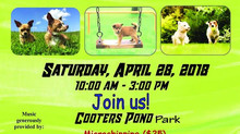 "The ""Backyard Dogwash"" will be attending Bark in the Park!"