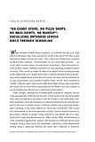 """No Candy Store, No Pizza Shops, No Maxi-Skirts, No Makeup"": Socializing Orthodox Jewish Girls Through Schooling"