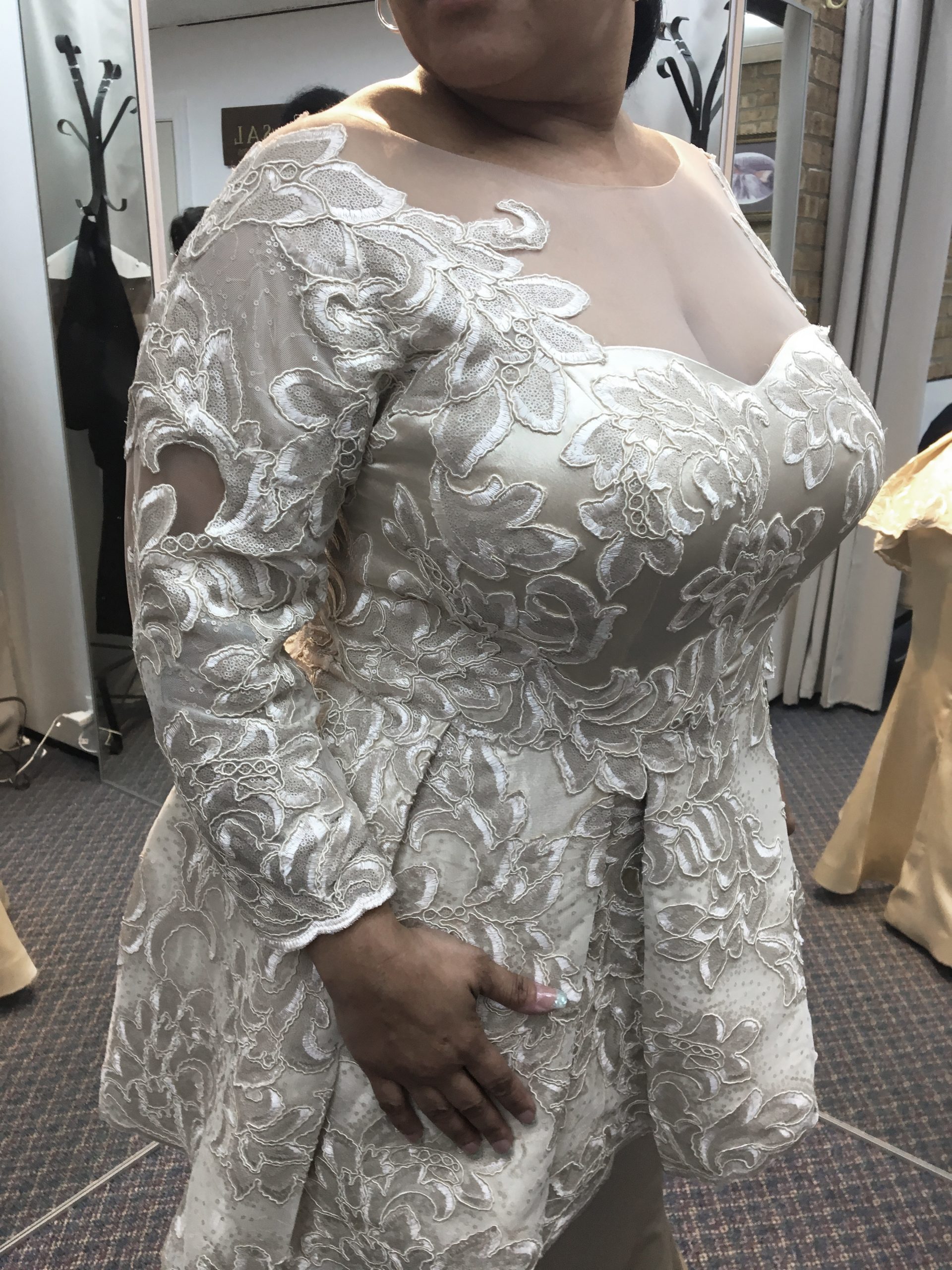 custom mother of the bride groom dress