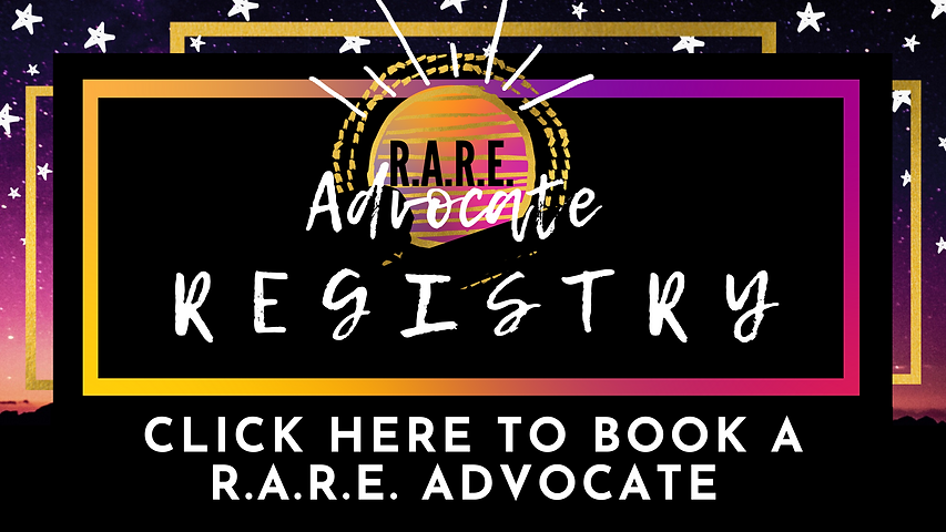 Click Here to Book a R.A.R.E. Advocate