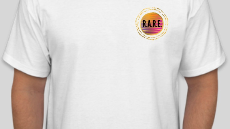 R.A.R.E. Empowered People Empower People T-Shirt in White