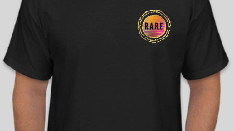 R.A.R.E. Empowered People Empower People T-Shirt in Black