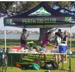 PerthTri Club new tent