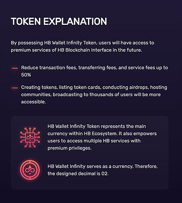HB Wallet Infinity Token Description