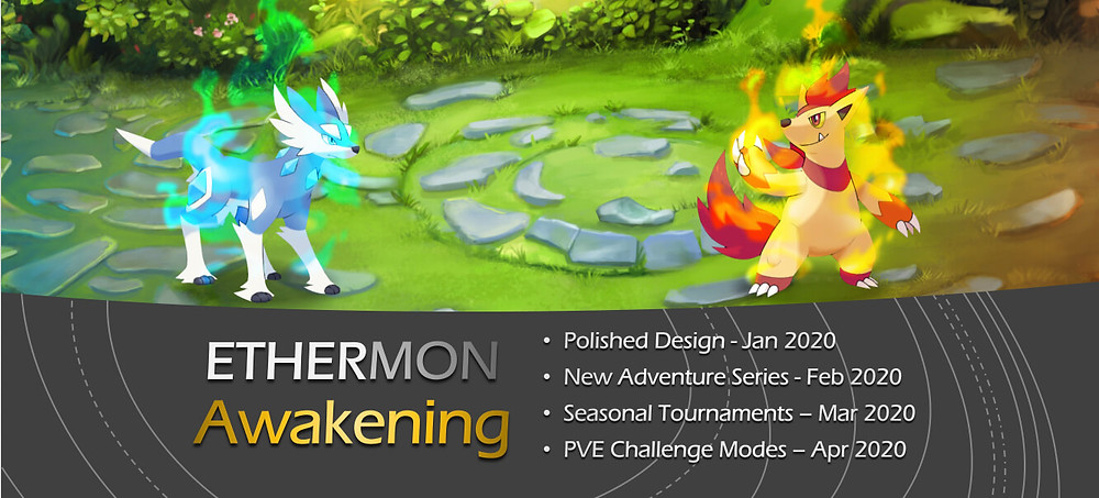 Ethermon.io was relaunched in 2019 as a spin-off of the popular Etheremon.com