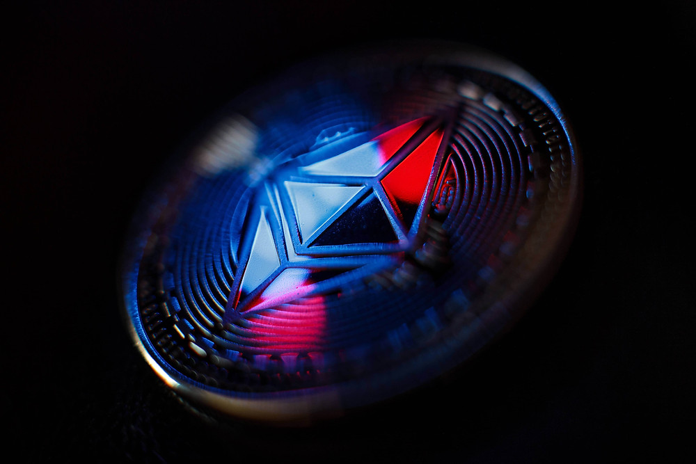 Ether is a cryptocurrency that is generated on the Ethereum network.