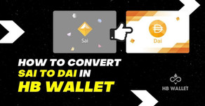 How to convert Sai to Dai in HB Wallet