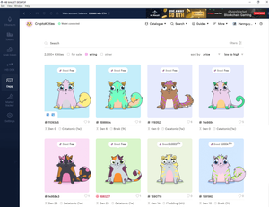 How to Breed Cryptokitties on HB Wallet