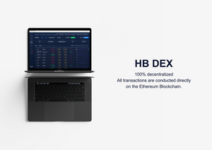 HB DEX is a 100% decentralized exchange