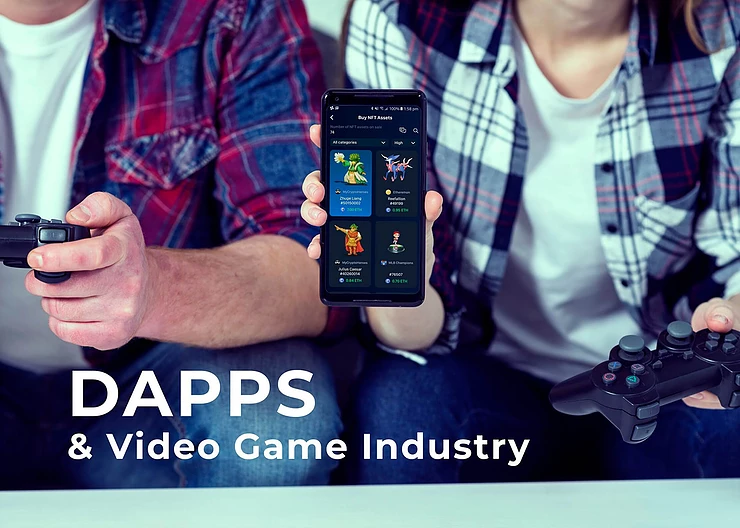 Dapps revolutionize the entire games industry