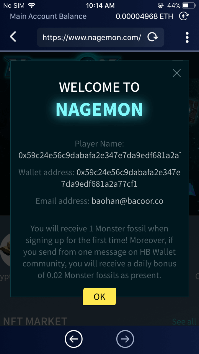 Welcome to Nagemon!