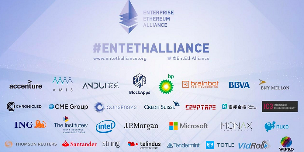 Enterprise Ethereum Alliance (Source: Medium)