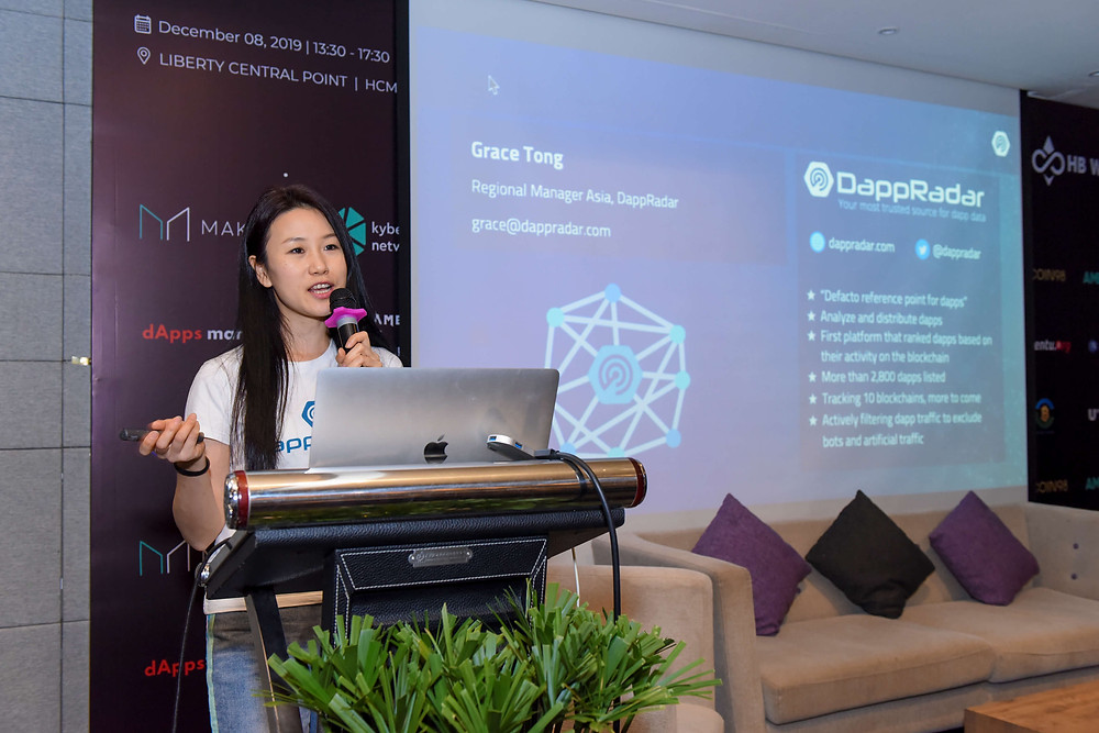 Easy Access and UX Are Key to Success for Developers - Ms. Grace Tong, DappRadar