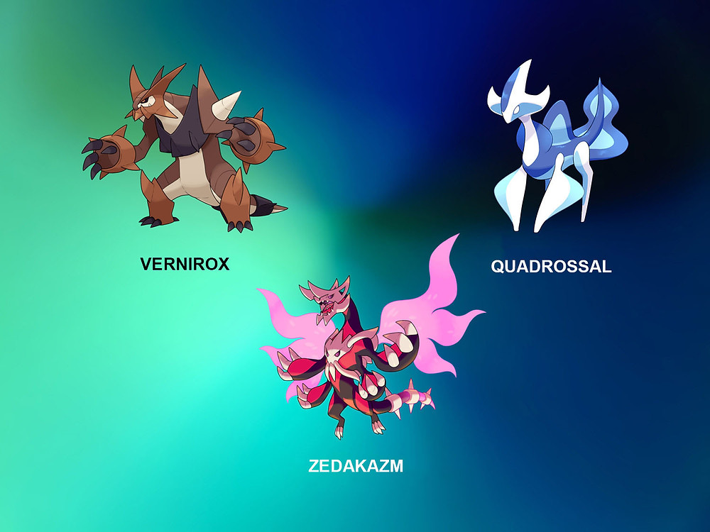Venirox, Quadrossal and Zedakazm