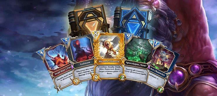 Digital cards from God Unchained