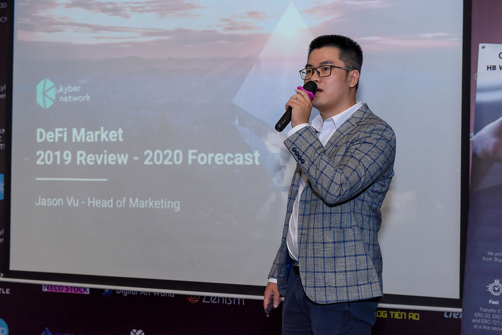 Review the 2019 DeFi Market and 2020 Forecast -Mr. Jason Vu, Kyber Network