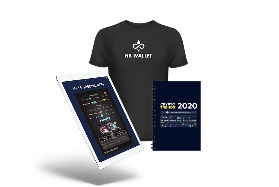 Exclusive gifts from HB Wallet