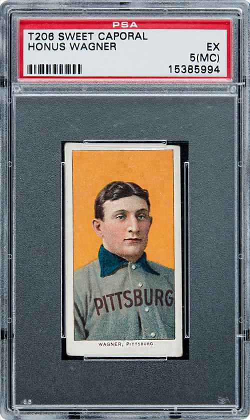 The 1909-11 T206 Honus Wagner