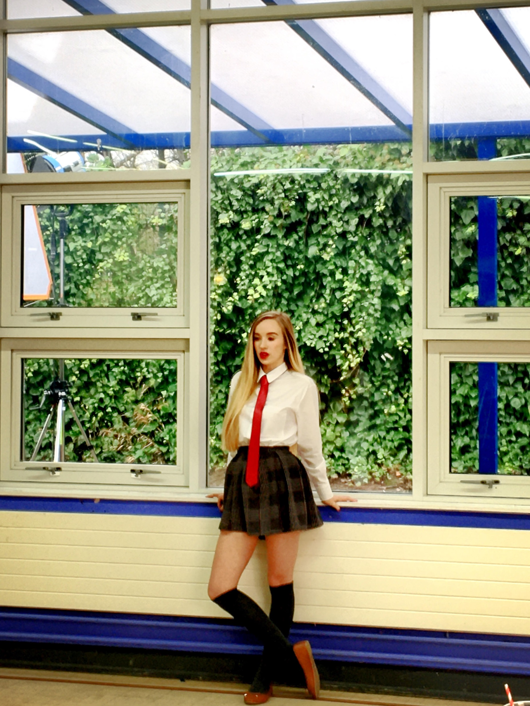 Eating Miss Campbell - Emily Haigh as Clarissa