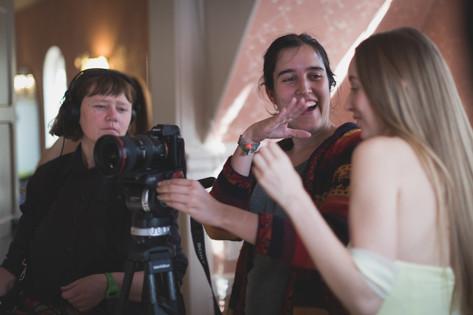 Cassandra, Beatriz and Emily