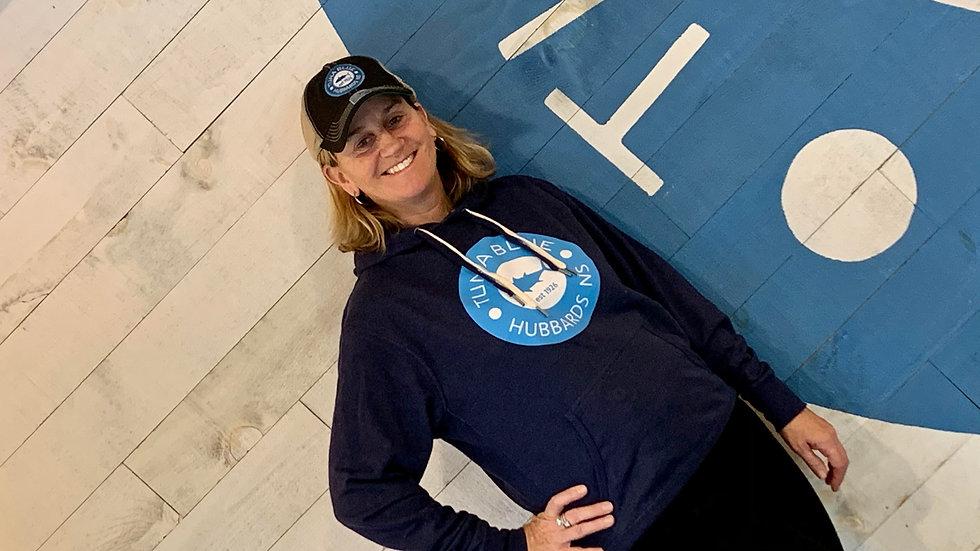Navy Tuna Blue Hoodie