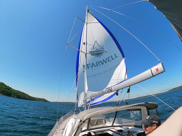 Authentic adventure sailing