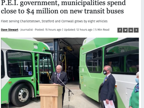 P.E.I. government, municipalities spend close to $4 million on new transit buses