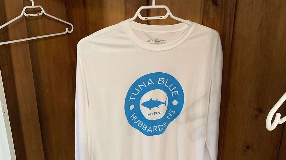 Tuna Blue White Long Sleeve
