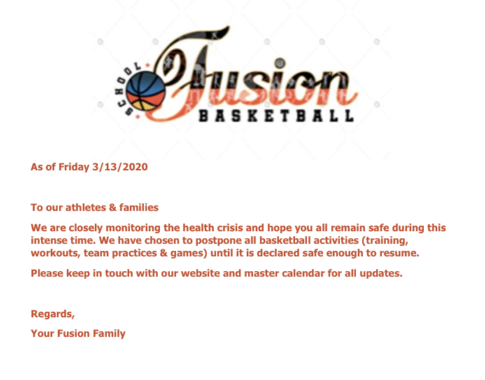 Fusion Update as of 3/13