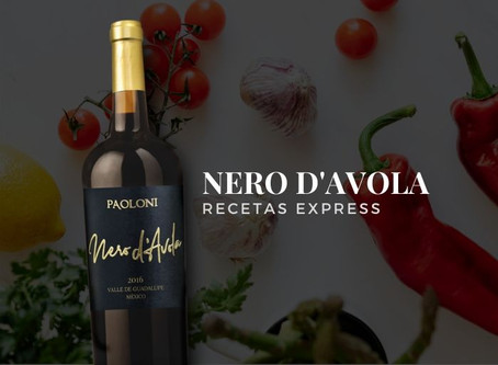 Nero d'Avola & Recetas Express