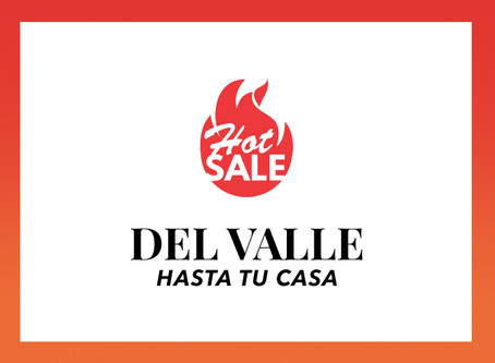 Hot Sale 2020, ¡Del Valle hasta tu casa!