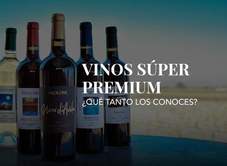 ¿Qué tanto conoces nuestra línea de vinos Súper Premium?